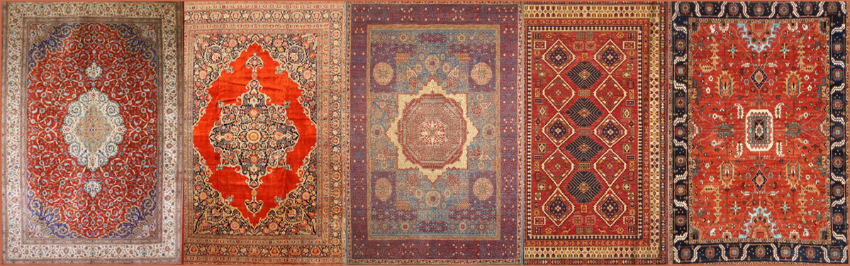Hand Woven Oriental Carpets And Rugs